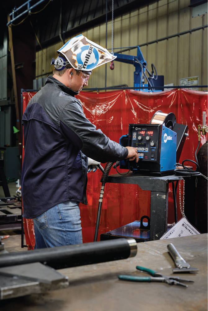 The Fabricator - September 2018 - Today's simplified welding