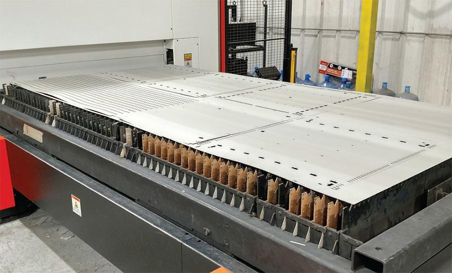 The Fabricator - January 2019 - Robotic press brake bending: Faster