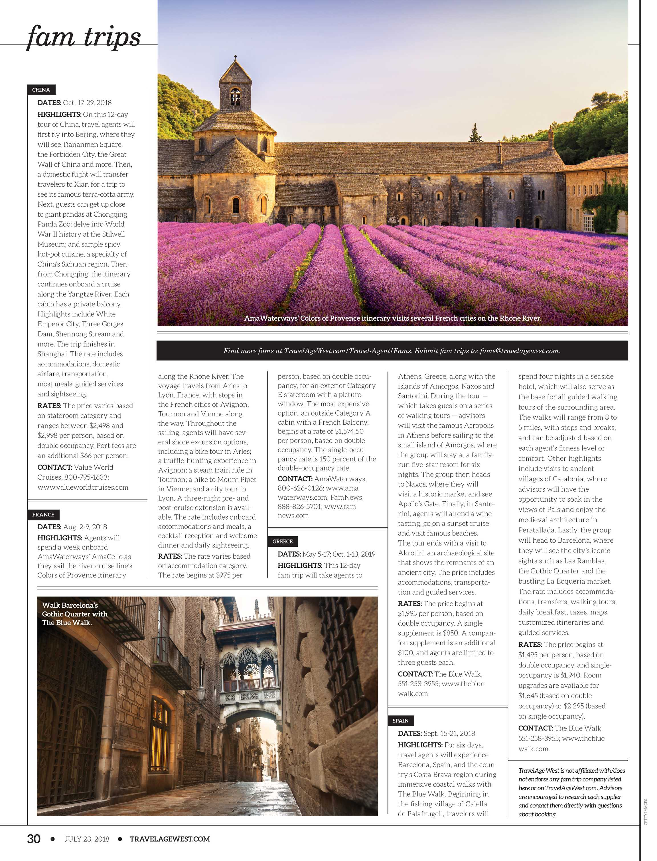 Travel Age West - July 23, 2018 - page 30