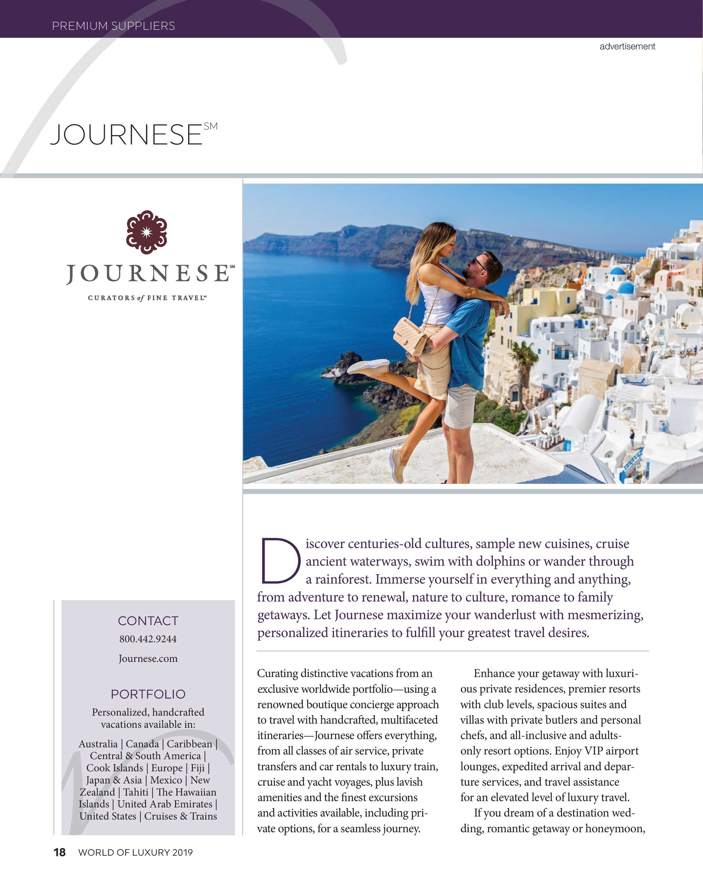 Travel Weekly - World of Luxury 2019 - page 18