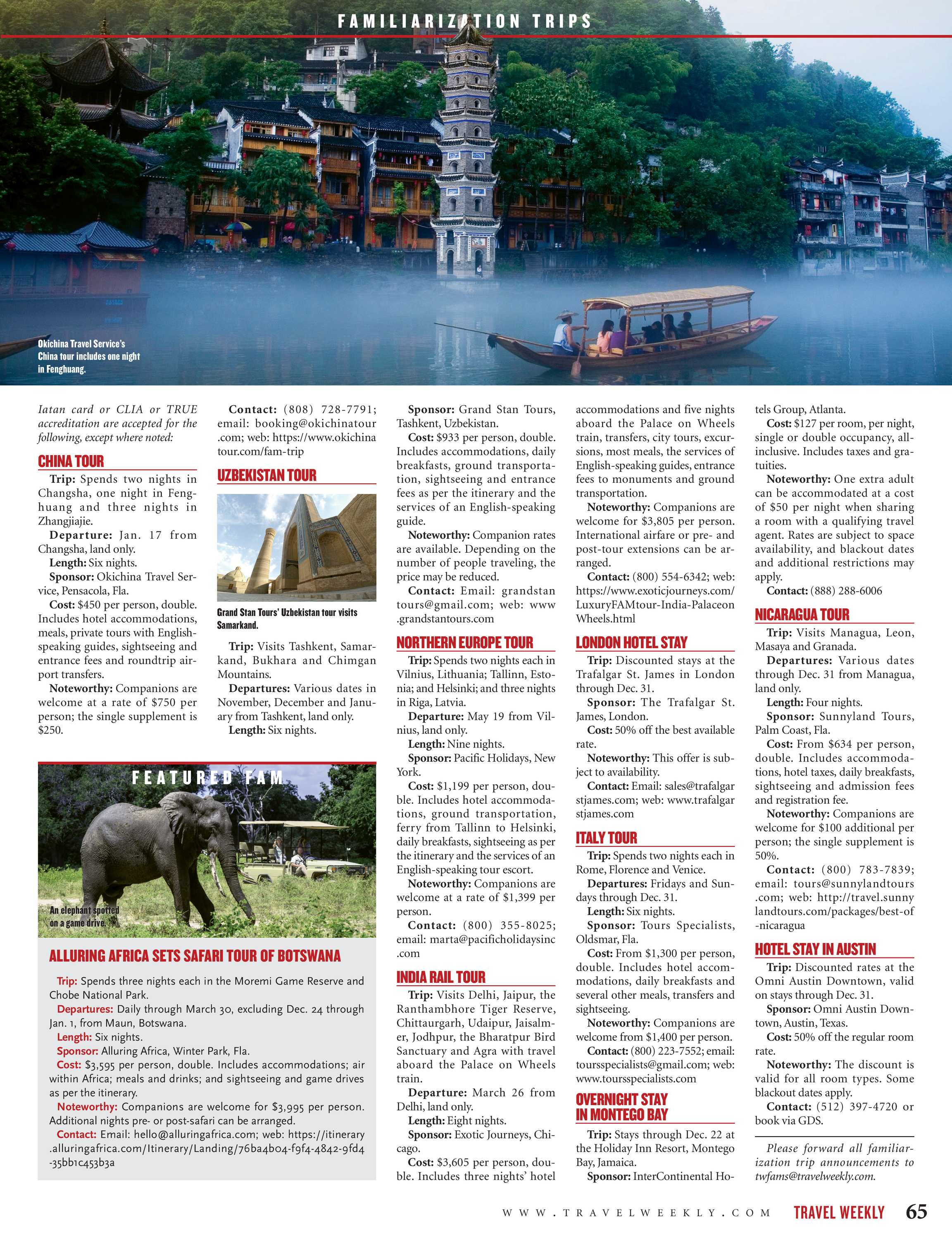 Travel Weekly - October 8 2018 - page 65
