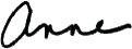 signature anne millage