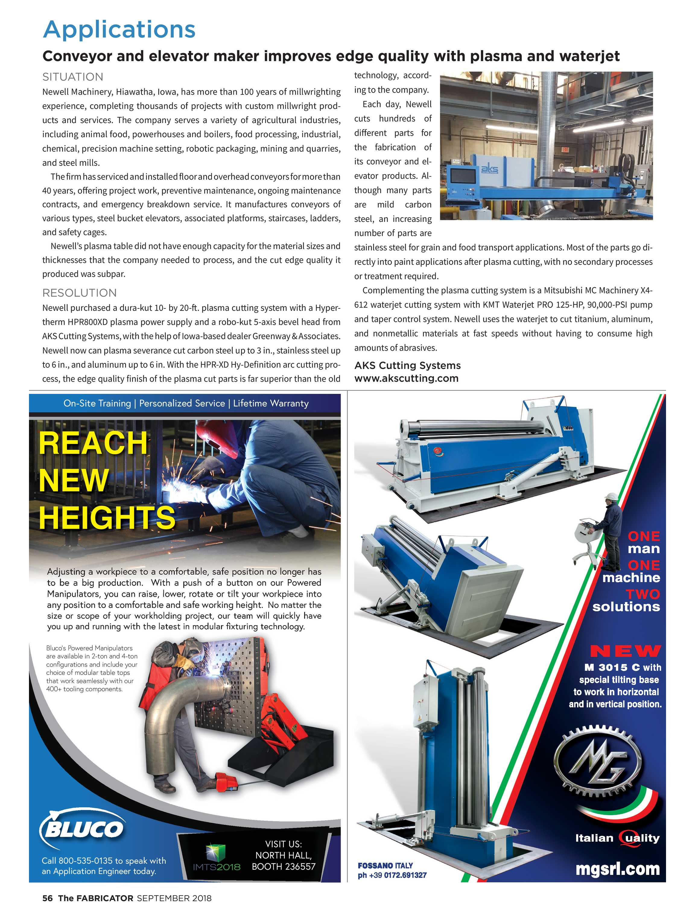 The Fabricator - September 2018 - page 56