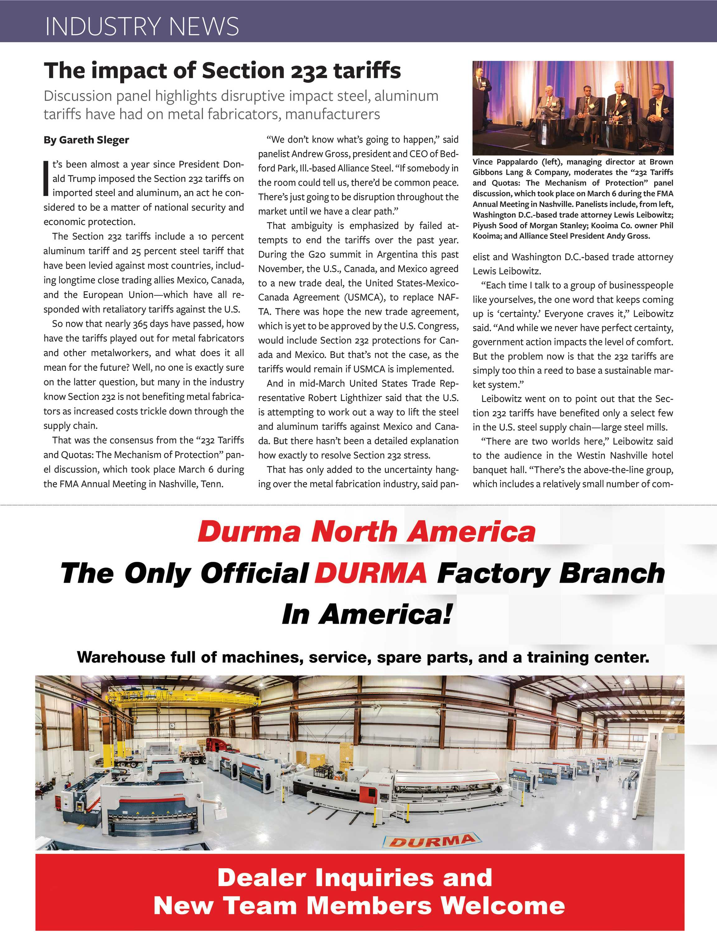 The Fabricator - April 2019 - page 20