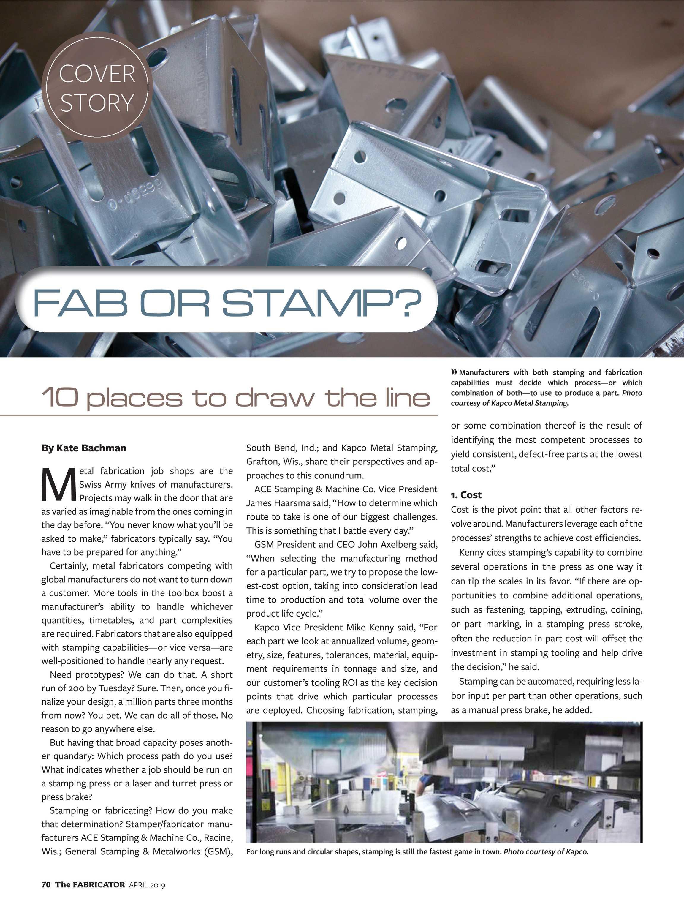 The Fabricator - April 2019 - page 69