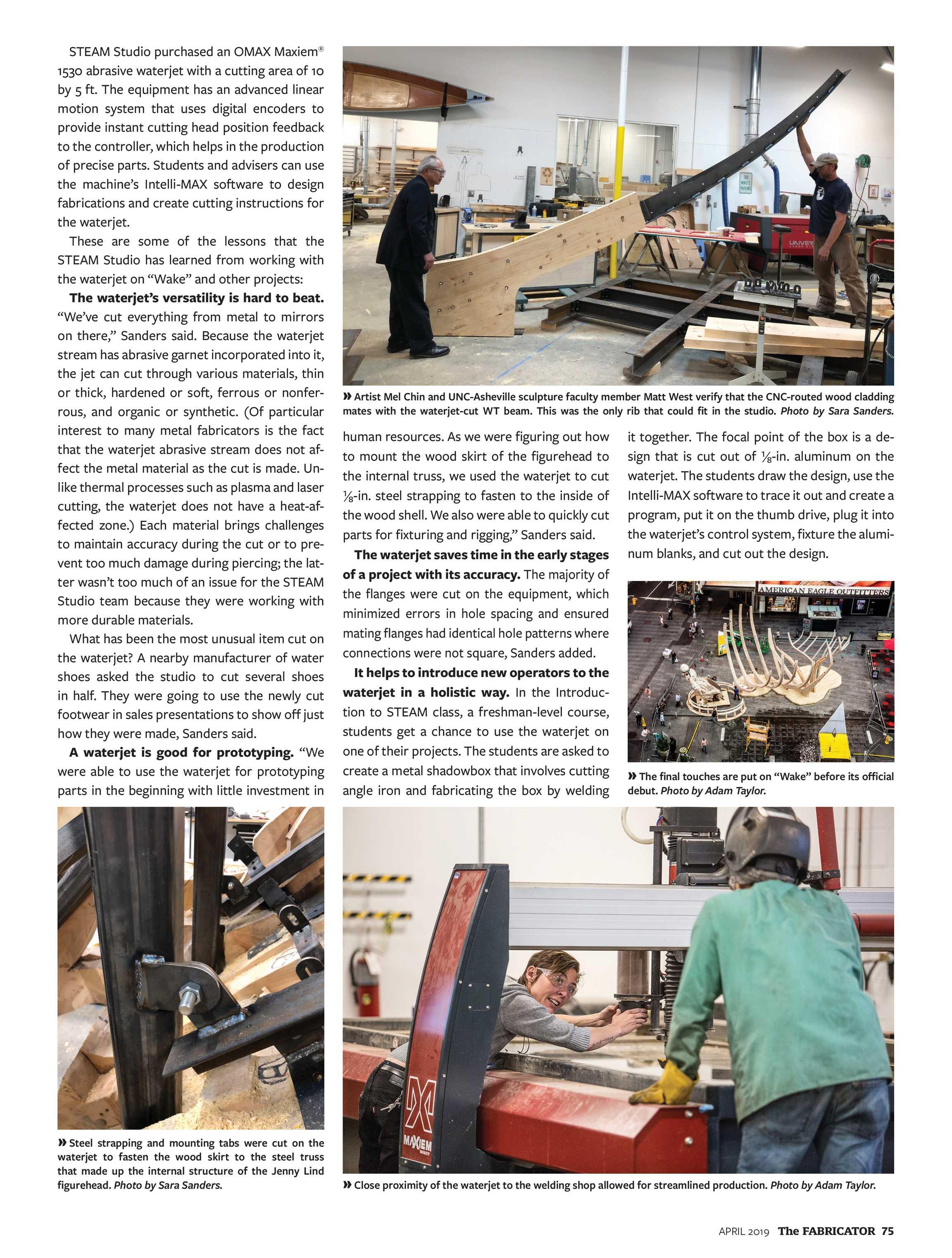 The Fabricator - April 2019 - page 74
