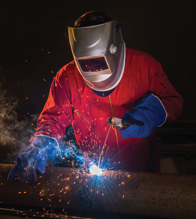 The Fabricator July 2019 Shielded Metal Arc Welding Primer