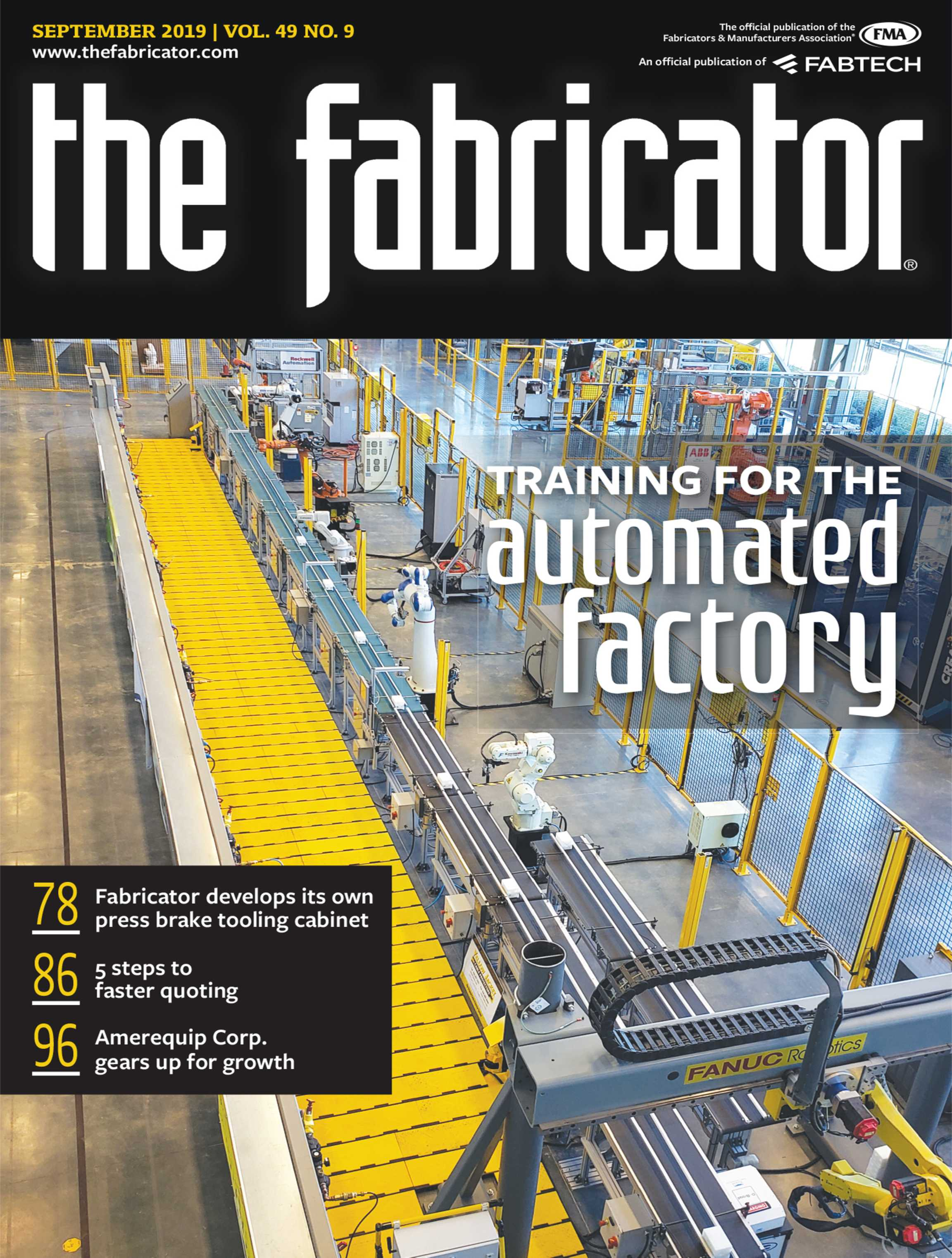 The Fabricator - September 2019 - page Cover
